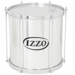 "Repenique 12"". Alumínio. 6 tensores. Peso: 2,63Kg. Izzo Percussion."