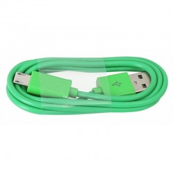Cable micro Usb 1m verde
