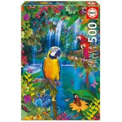 Puzzle 500 paraíso tropical