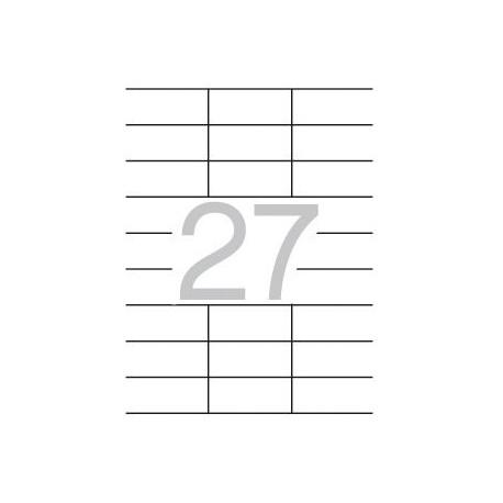 Etiqueta impresora 70x30 01271 Apli
