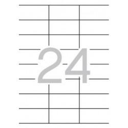 Etiqueta Apli 1272 70x35mm 100h A4