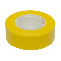 Cinta adhesiva 19x33 amarillo Apli