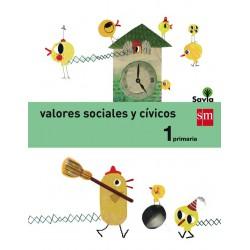 Valores sociales y cívicos 1ºEp Savia. Sm