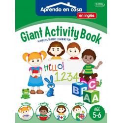 Giant Activity Book 5-6. Saldaña