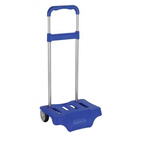 Carrito mochila azul reflex
