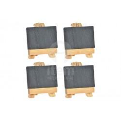 Mini pizarra set 4 32x11