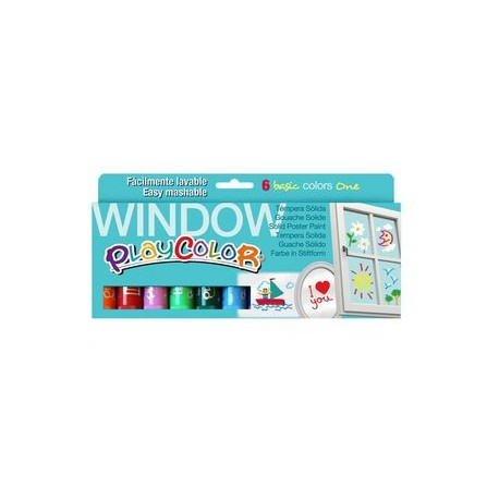 Playcolor Window 6uds