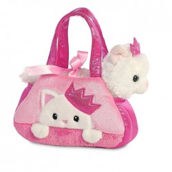 Peluche gato en bolso