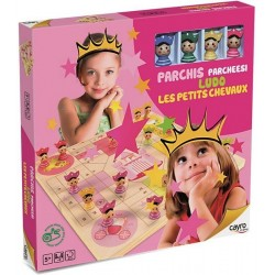 Juego parchís princesas