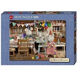 Puzzle 500: Celebration Mouse mansion