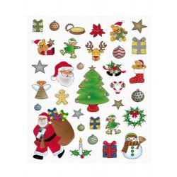 Gomets removible Navidad ref 11618