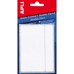 Etiquetas adhesivas 19x27mm REF 2549