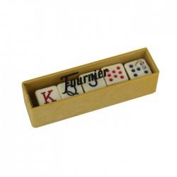 Dados póker caja