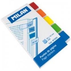 Banderitas separadores Milan 5col
