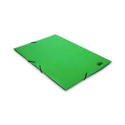 Car Fº cartón solapas y gomas verde