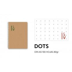 Bloc A5 100h 80gr Dots