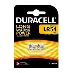 Pila LR54 LR1130 Alcalina Duracell 2uds