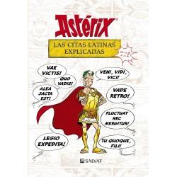 Astérix las citas latinas explicadas. Salvat