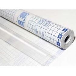 Forralibros rollo adhesivo 0,50mx20mm