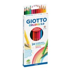 Lápiz 24col Giotto colors 3.0