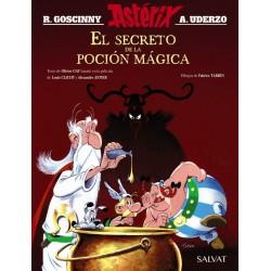 Astérix el secreto de la poción mágica.