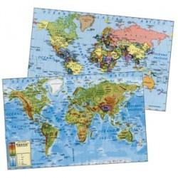Mapa Mural planisferio. Vicens Vive