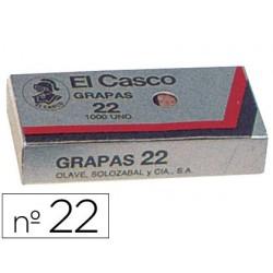 Grapas 22 caja 1000uds. El Casco