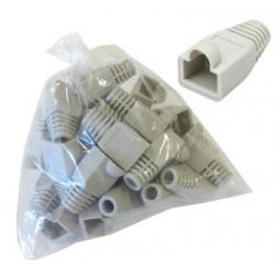 Funda Rj45 plástico gris