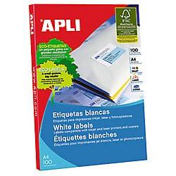 Etiqueta Apli 01281 210x297mm