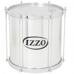 """Repenique 12"""". Alumínio. 6 tensores. Peso: 2,63Kg. Izzo Percussion."""