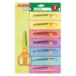 Tijeras 8+1 corte especial Alpino