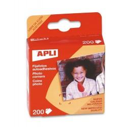 Fijafotos adhesivos 93. 200uds Apli