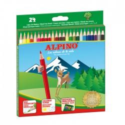 Lápiz 24col Alpino