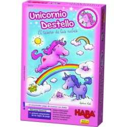 Unicornio destello. Haba