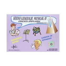 Nuevo lenguaje musical IV+cd Si bemol