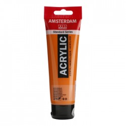 Pintura acrílico 120ml naranja azo Amsterdam