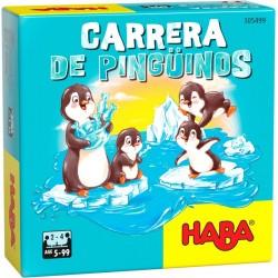 Juego carrera de pingüinos. Haba