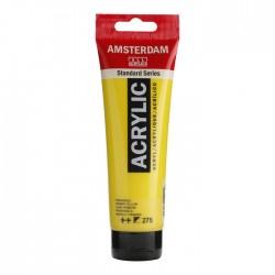 Pintura acrílico 120ml amarillo primario Amsterdam