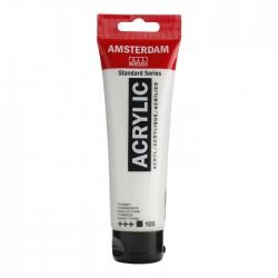 Pintura acrílico 120ml blanco titanio Amsterdam