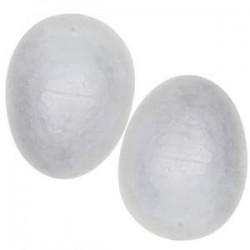 Huevos Pórex 75mm 6uds