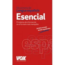 Dicc. Lengua española Esencial Vox