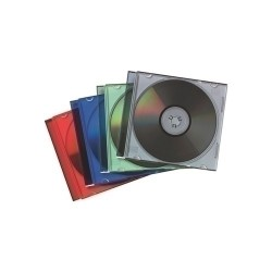 Caja CD slim colores 25uds
